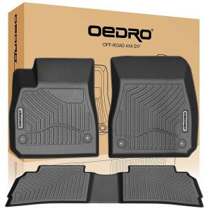 OEDRO Floor Mats Compatible for 2018-2019 Chevrolet Equinox