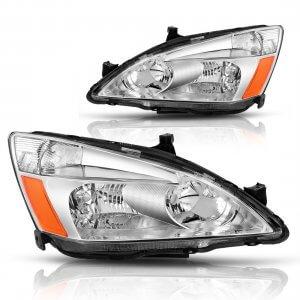 headlight assembly for honda accord