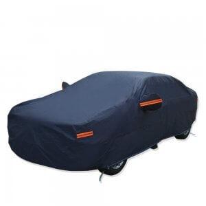 "192"" L Dark Blue PEVA Waterproof Car Cover"
