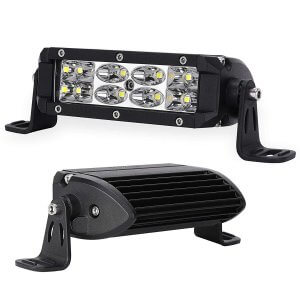 2Pcs 36W 5 Inch LED Light Pods Combo LED Light Bar