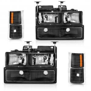 Headlight Assembly Kit for C/K Series 1500 2500 3500 (Driver & Passenger Side)