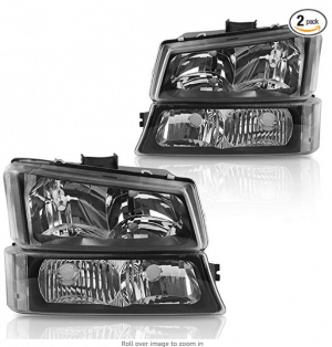 headlight assembly for chevy avalanche silverado