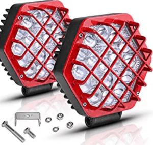 5 inch Round light Pods