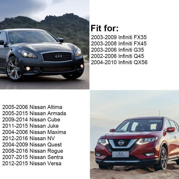 YITAMOTOR Key Fob Compatible for 2008-2016 Nissan Rogue