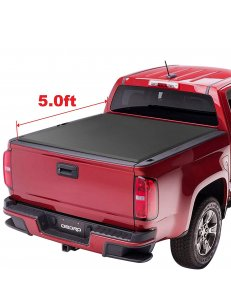 TRI-FOLD Truck Bed Tonneau Cover Compatible | Fleetside 5' Bed