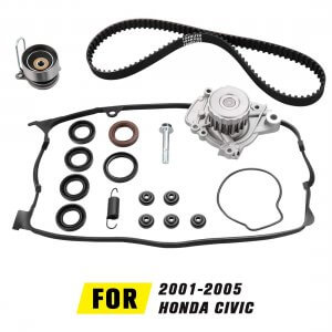 Timing Belt Kit with Water Pump for 2001-2005 Honda Civic