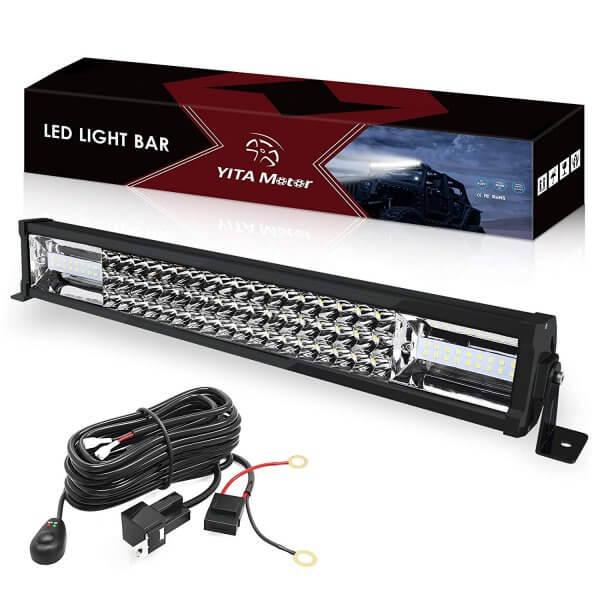 22inch tri-row light bar