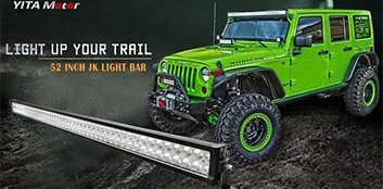 how to install 52 inch LED light bar