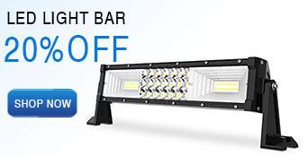 24 triple row led light bar